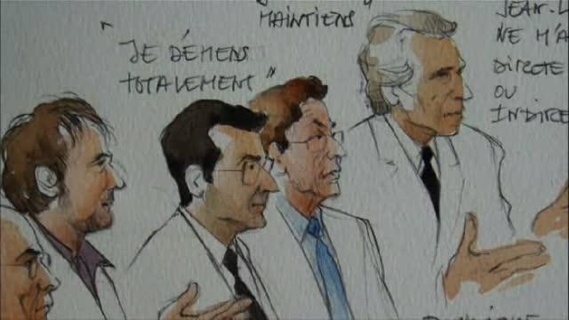 Le Bal des menteurs, le procès Clearstream : Eric Dinoysus