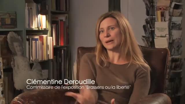 Le regard de Georges Brassens : Sandrine Dumarais