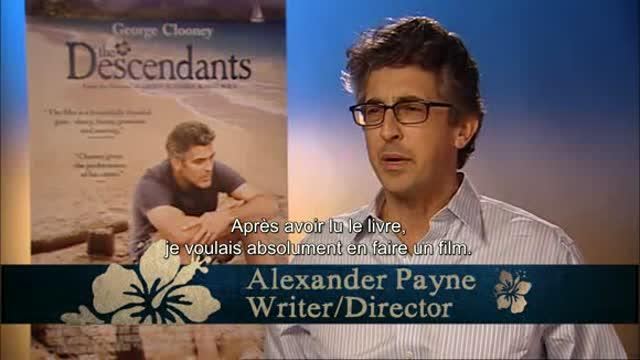 L'équipe parle du film : The Descendants