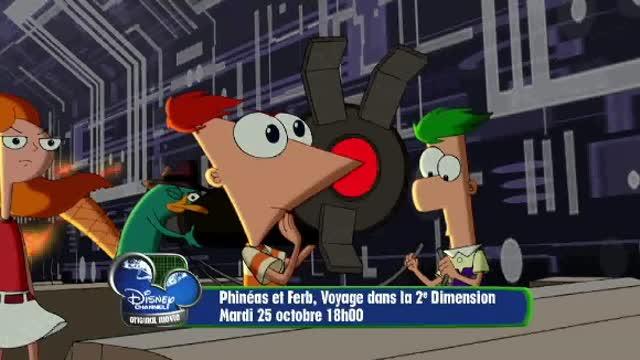 Bande Annonce : Phineas et Ferb le film - Voyage dans la 2nde dimension
