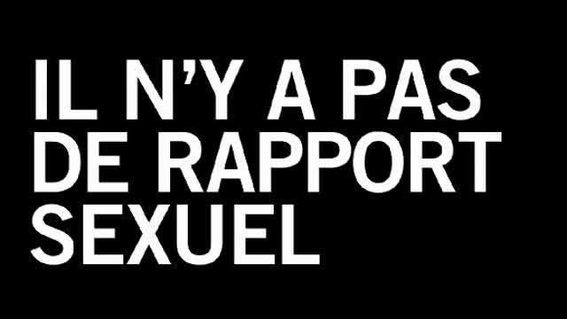 Il n'y a pas de rapport sexuel : Raphael Siboni