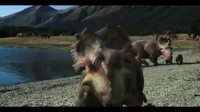 Sur la terre des dinosaures 3D : Steve Burgess