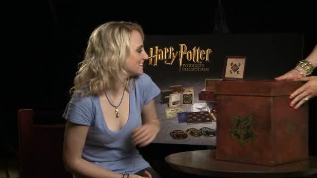 Pr�sentation du coffret par les acteurs : Harry Potter Wizard