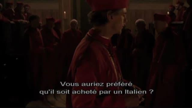 Extrait 2 VOST : The Borgias - Saison 1