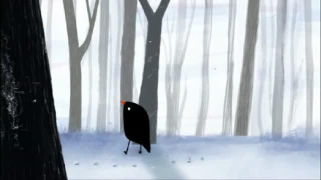 Extrait : L'oiseau et la feuille