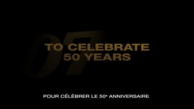 Bande-annonce VOST : Bond 50 : Les 22 Films de la Saga