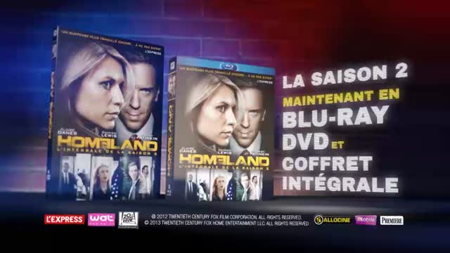 Spot TV : Homeland - Saison 2