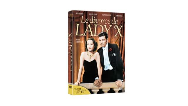 Le Divorce de Lady X : Tim Whelan