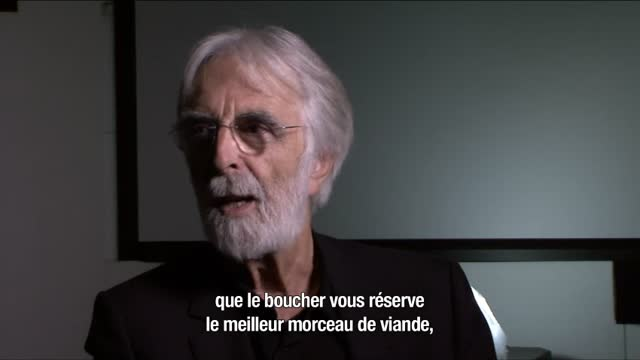 Michael Haneke : profession r�alisateur : Michael Haneke