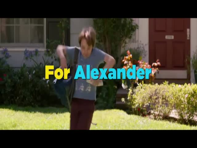 Bande-annonce VO : Alexander and the Terrible, Horrible, No Good, Very Bad Day