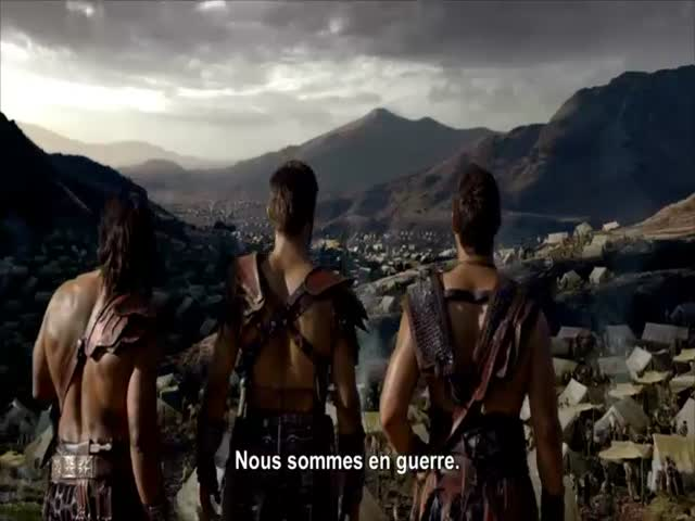 Bande-annonce VOST : Spartacus, La Guerre des Damnés - Saison 3