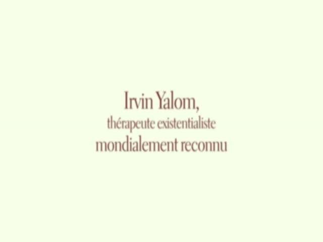 Irvin Yalom, La Thérapie du bonheur : Stefan Zuber