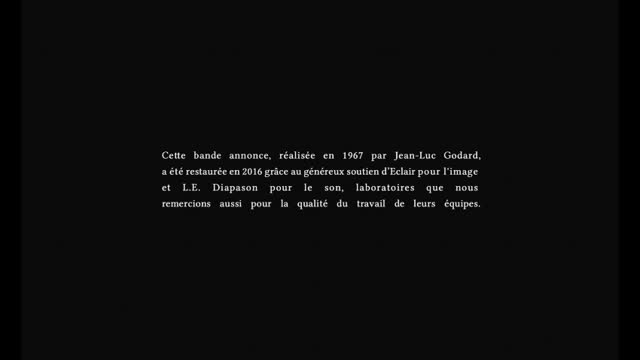 Bande-annonce : Mouchette