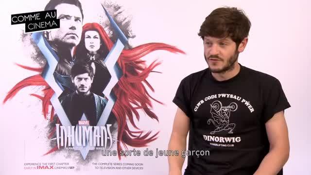 Interview d'Iwan Rheon : Inhumans