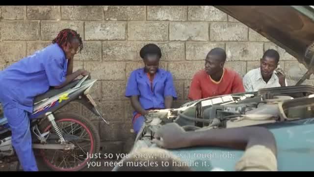 Ouaga Girls : Alexandra STRAUSS