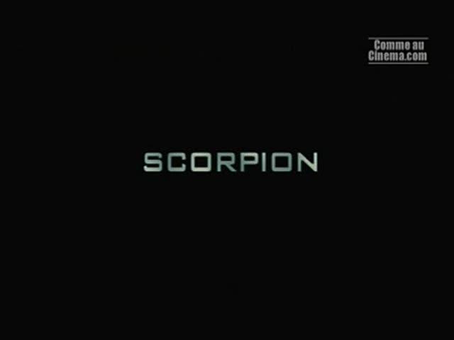 Scorpion : Bruno Charier