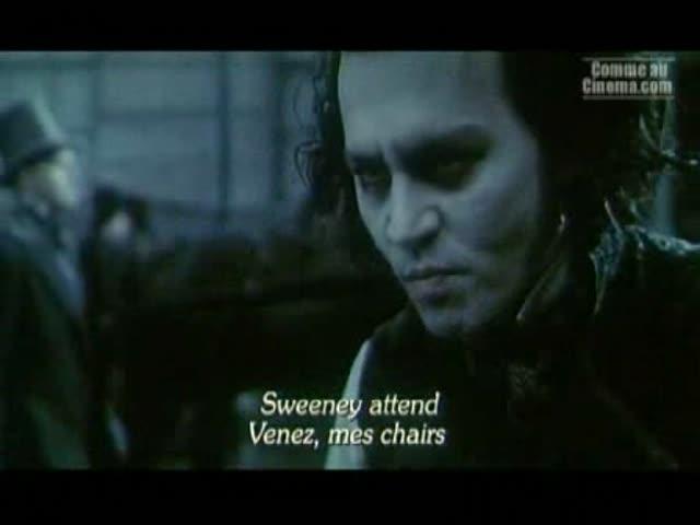 Bande Annonce : Sweeney Todd, le diabolique barbier de Fleet Street