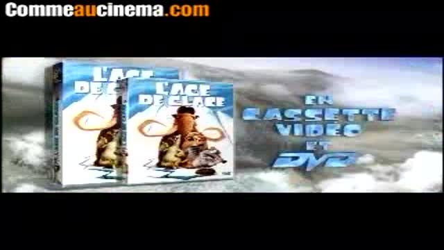 Spot DVD : L'�ge de glace