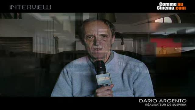 Notre rencontre avec Dario Argento ! : Suspiria